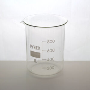 Bägare 1000 ml Pyrex