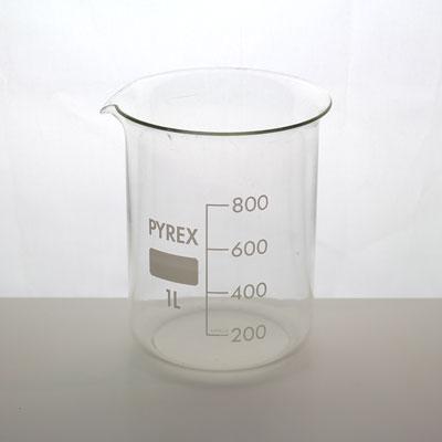 Bägare 1000 ml Pyrex