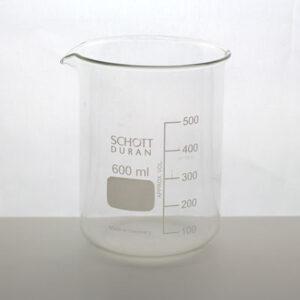 Bägare 600 ml Schott