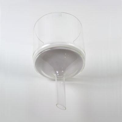 Buchner tratt glas