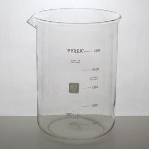 Bägare 2500 ml Pyrex
