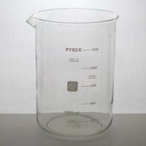 Bägare 2500 ml Pyrex
