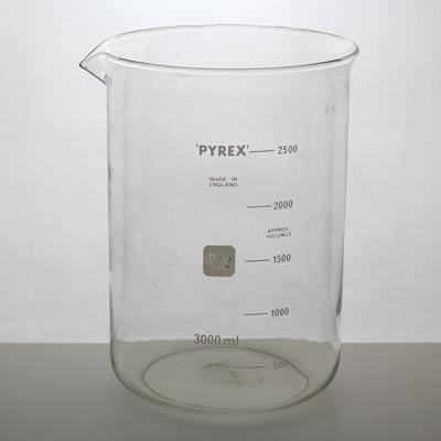 Bägare Pyrex