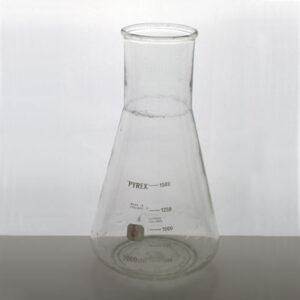 E-kolv 2000 ml Pyrex